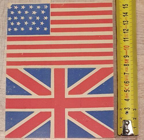 Original WW2 American French / Belgium propaganda leaflet: