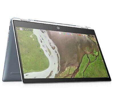 """HP Chromebook x360 14-da0002na 14"""" Convertible Laptop Pentium Gold 32GB eMMC 4GB"""