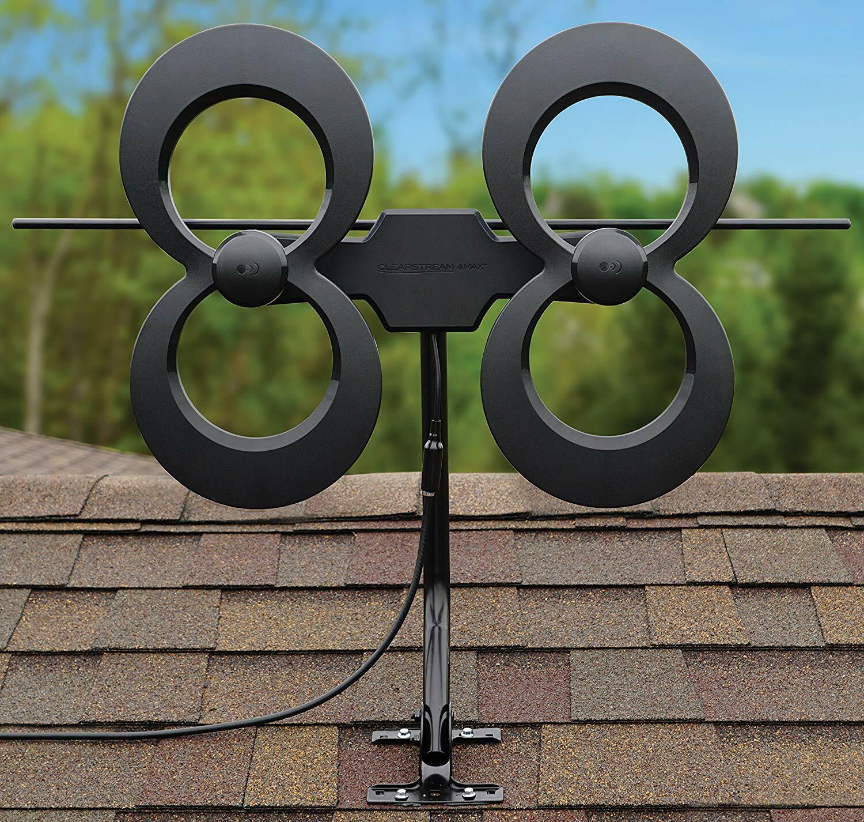 NEW ClearStream 4MAX UHF/VHF Indoor/Outdoor HDTV Antenna w/