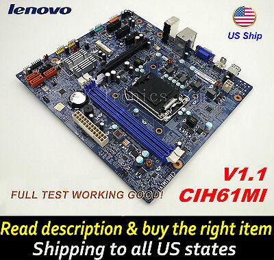 LENOVO IdeaCentre H520s K410 11200969 H61 CIH61MI V1.1 V1.0 LGA1155 Motherboard