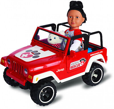 My Life As Animal Rescue Remote Control Jeep - Red (R/C Car to Carry (Rescue Jeep)