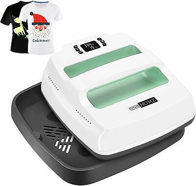 Vivohome T-shirt Heat Press Machine Digital Sublimation Transfer Ironing Print