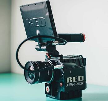 RED EPIC DRAGON 6K VIDEO CAMERA + ACCESSORIES