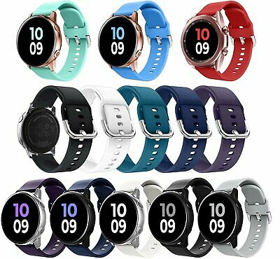 For Samsung Galaxy Watch Active 2 40mm/44mm Watch Band Silicone Sport Strap Jewelry & Watches