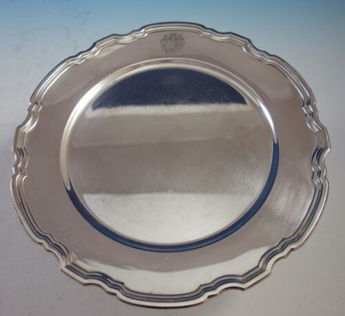 """Hampton by Tiffany & Co. Sterling Silver Charger Plate #20843 10 3/4"""" (#2869)"""