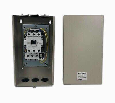 Shihlin Magnetic Starter 10 Hp 1ph 230v For Air Compressor Electric Motor 60 Amp