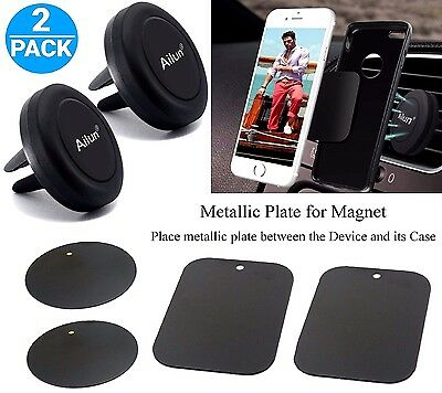 Universal Mobile Cell Phone GPS Air Vent Magnetic Stand Car Mount Holder Smart
