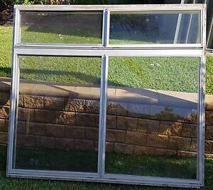 Aluminium Windows with Hardwood Reveals and Flyscreens Engadine Sutherland Area Preview