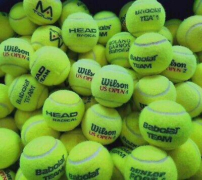 15 Used Tennis Balls. Ball Games / For Dogs. All Sanitised Branded Balls