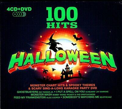 100 Hits Halloween (HALLOWEEN (100 Hits - 4 CD + 1 DVD)