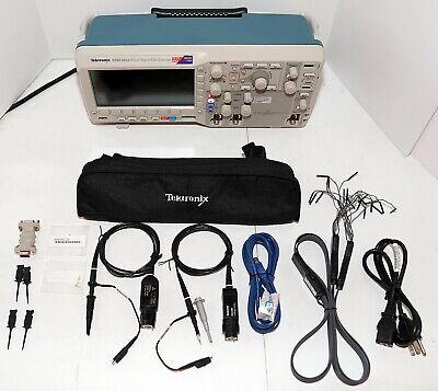 Tektronix Mso2012 100mhz 2 Analog 16 Digital Channel Mixed Signal Oscilloscope