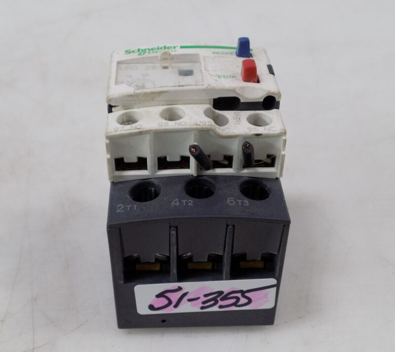 SCHNEIDER ELECTRIC OVERLOAD RELAY LRD22