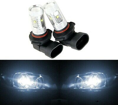 LED 30W 9005 HB3 White 5000K Two Bulbs Head Light Low Beam Replacement Show