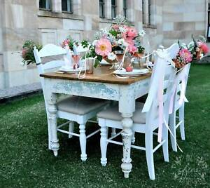 Reduced - Vintage Pine Farmhouse Table Chermside Brisbane North East Preview