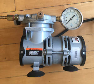 Gast BFB-LOA-GOOD-AA Oilless Piston Pressure Pump Air Compressor