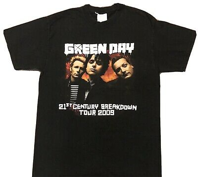 Green Day 21st Century Breakdown 2009 Tour Shirt