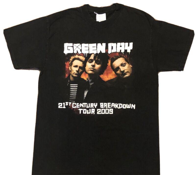 Green Day 21st Century Breakdown 2009 Tour Shirt
