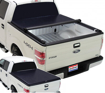 TruXedo TruXport Tonneau Roll Up Cover for Chevy Silverado GMC Sierra 8 Foot Bed ()