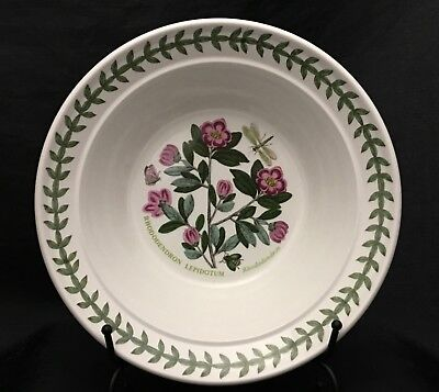 - Vibrant Portmeirion BOTANIC GARDEN Rhododendron Rimmed Cereal Oatmeal Bowl