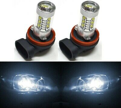 LED 80W H11 White 5000K Two Bulbs Head Light Replacement Motorcycle Bike
