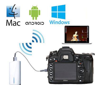Wifi Wireless Liveview Remote Nikon D810 D610 D800 D7000 D7100 D4 D3 Mac Android