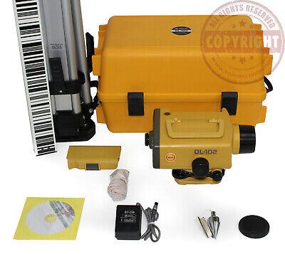 Topcon Dl-102 Digital Auto Level Sokkia Surveying Trimble Leica Dini Dna