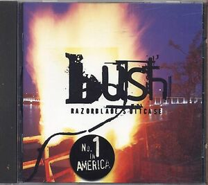 BUSH-Razor-blade-suitcase-CD-1996-NEAR-MINT-CONDITION