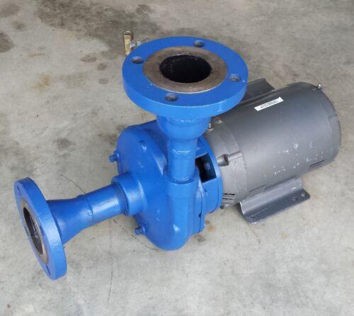 Goulds Pumps Model 3656, 7.5hp 1.5x2-8, 208-240/480V 3PH, 6.25 Imp w/ 3x3.5 Flng