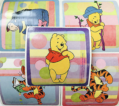15 Disney Playtime Winnie the Pooh Stickers Party Favors Tigger Eeyore  - Winnie The Pooh Party