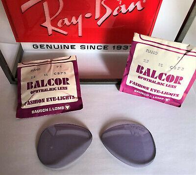 Ray-Ban Vintage Lila Gläser  Bausch&Lomb Balcor USA