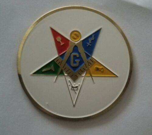 Past Patron Order of Eastern Star Auto Emblem Decal OES