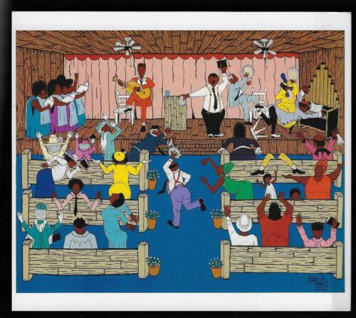 Folk Art By Hambone:Antioch Baptist Revival #175a
