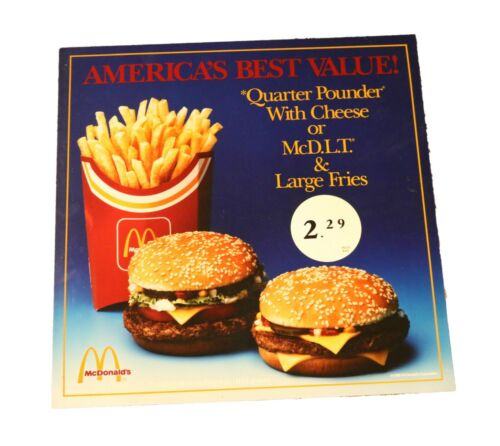 Vintage 1989 McDonald