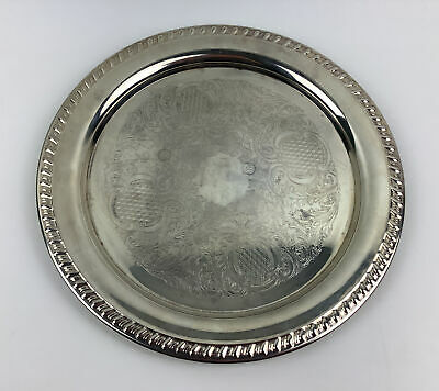 Platters Trays Silver Plated Ep