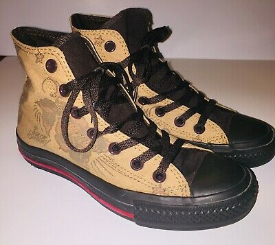 r All Star Sailor Jerry Death or Glory Sz Boys 4 W6 Unisex (Chuck Taylor Boys)
