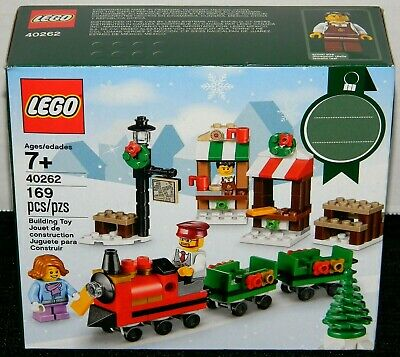 NEW! LEGO 40262 CHRISTMAS TRAIN RIDE / SEASONAL VIGNETTE (2017)
