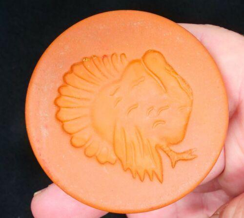 """Rycraft Thanksgiving Turkey Cookie Stamp 2 1/2"""" in Diameter"""