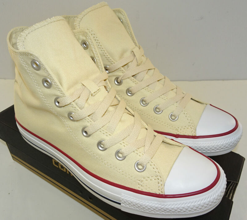 929dad984f870f CONVERSE Chuck Taylor All Star Hi Sneaker X9162 Unbleached White Size  11.5-17