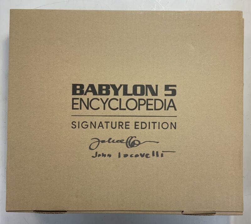 Babylon 5 Encyclopedia Signature Edition John Iacovelli Autograph