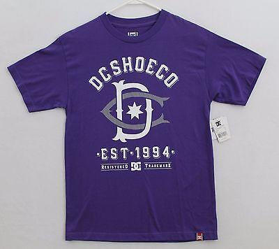 DC Shoes T-shirt Men's Size M Color Purple
