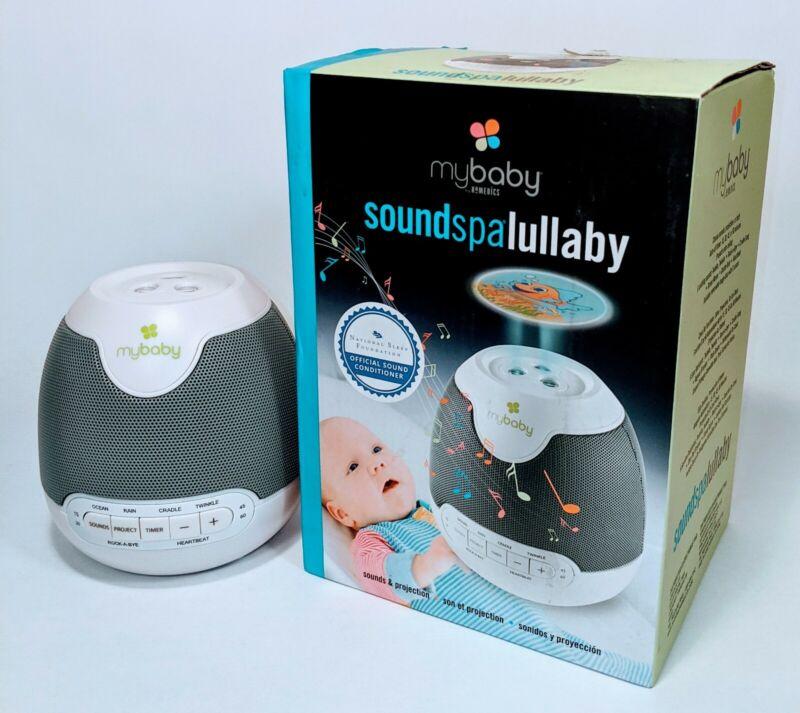 Homedics MyBaby SoundSpa Lullaby Sounds & Projection Plays 6 Sounds & Lullabies