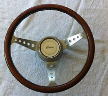 MAXROB ORIGINAL VINTAGE STEERING WHEEL - INC BOSS & CENTRE EMBLEM Nerang Gold Coast West Preview