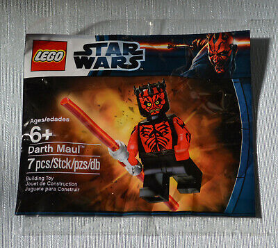Genuine LEGO > STAR WARS PolyBag Minifigure - #5000062 Darth Maul (Sealed)
