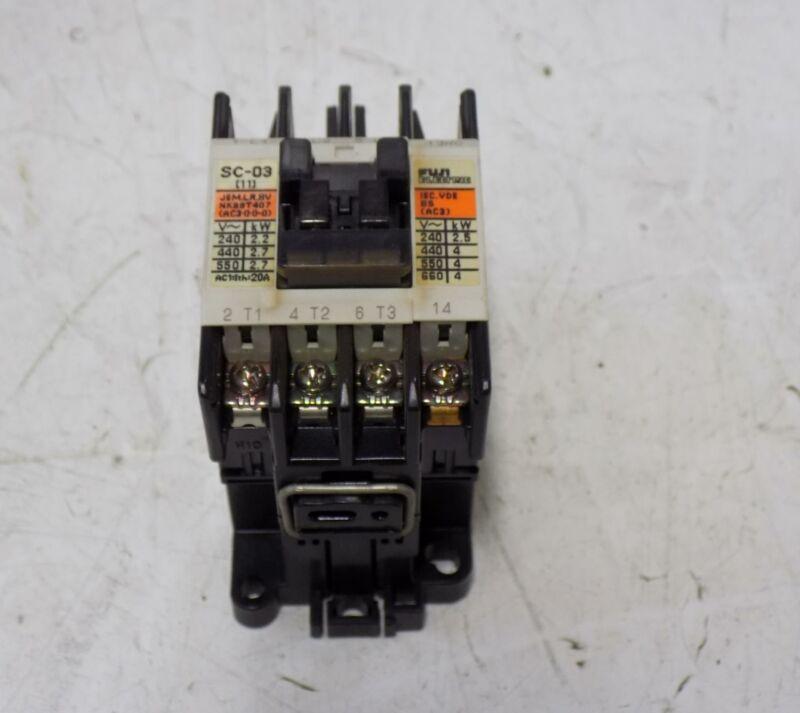 FUJI ELECTRIC CONTACTOR  SC-03 (11)