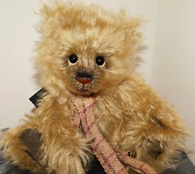 Charlie Bears Anniversary Mr Chips #263/500 Isabelle Lee 2015 Mohair 12