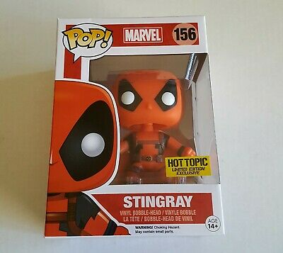 Funko Pop Marvel: Stingray - Deadpool - Hot Topic Exclusive