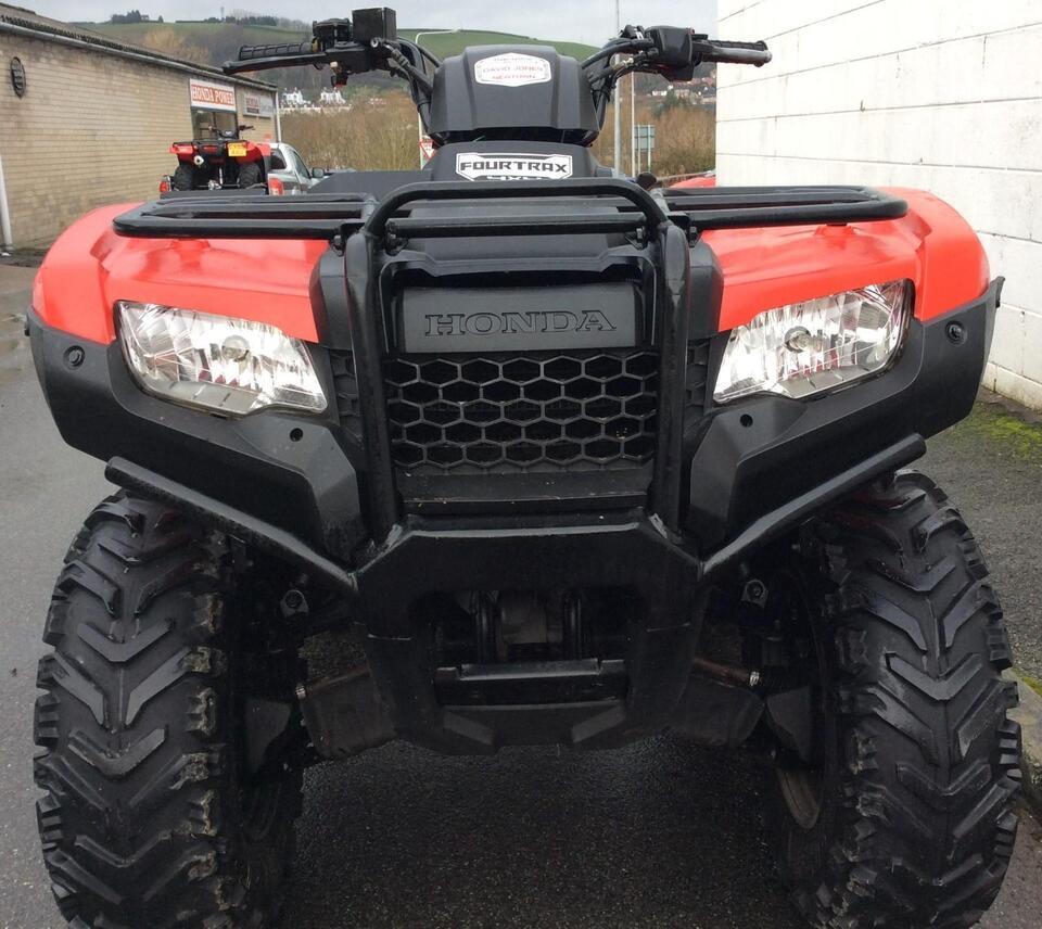 2014 HONDA TRX420 FM MANUAL FOURTRAX 4x2x4 4WD QUAD ATV FOUR WHEELER!