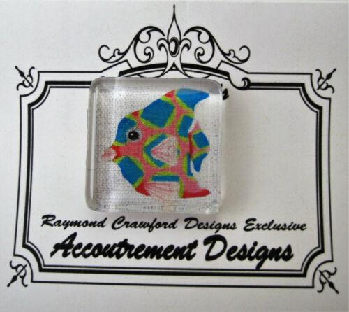 Needle Minder Magnet Fish Accoutrement Designs Raymond Crawford Cross Stitch