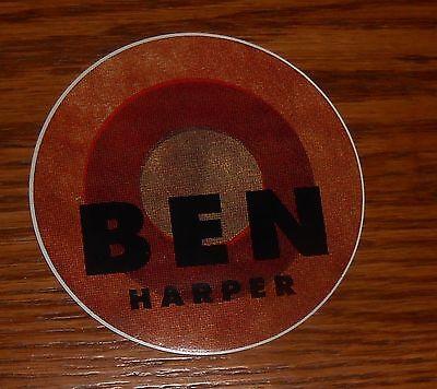 "Ben Harper Sticker Circle 1999 Promo 3"""