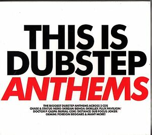 THIS IS DUBSTEP ANTHEMS 2-CD NEW (The Best of) inc Benga/Skream/Vex'd/Kromestar